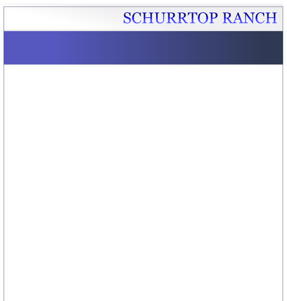 SCHURRTOP RANCH